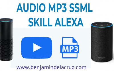 como usar SSML audio skill amazon echo alexa