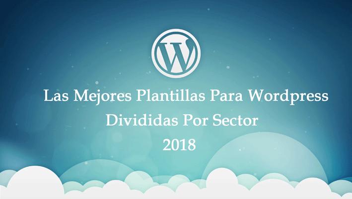 Listado de las mejores plantillas WordPress por Sector laboral