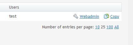 database usuarios